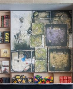 Black Plague Box Organiser - 1st Layer