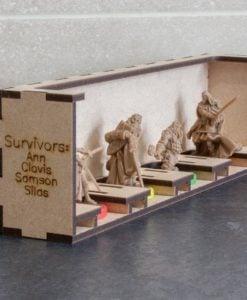 Black Plague Box Organiser - Survivors Tray
