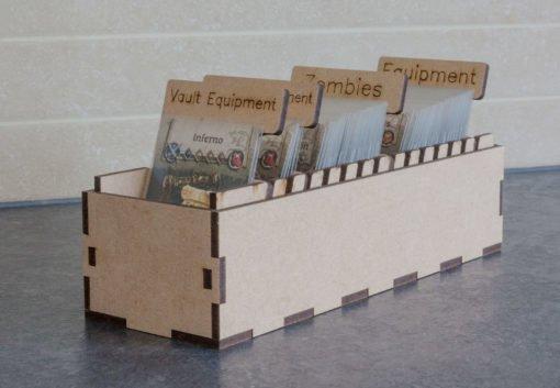 Black Plague Box Organiser - Card box