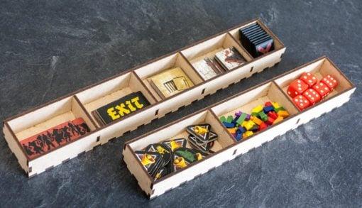 Black Plague Box Organiser - Token Trays
