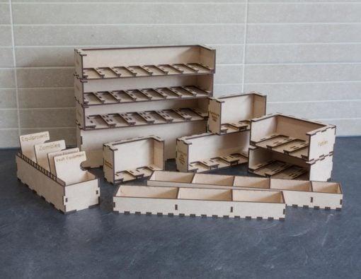 Black Plague Box Organiser - Assembled Kit