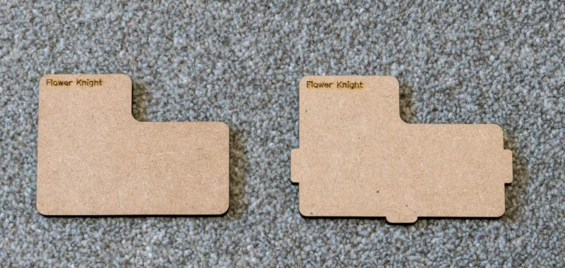 Loose dividers (left) vs Locking dividers (right)