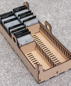 Gear Card Tray - Option A only, with game content